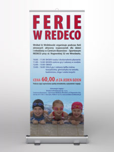 Ferie w Redeco - projekt na roll-up